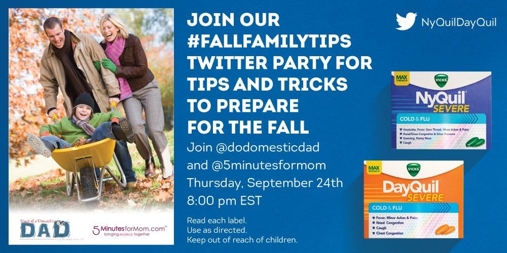 FallFamilyTips Twitter Party