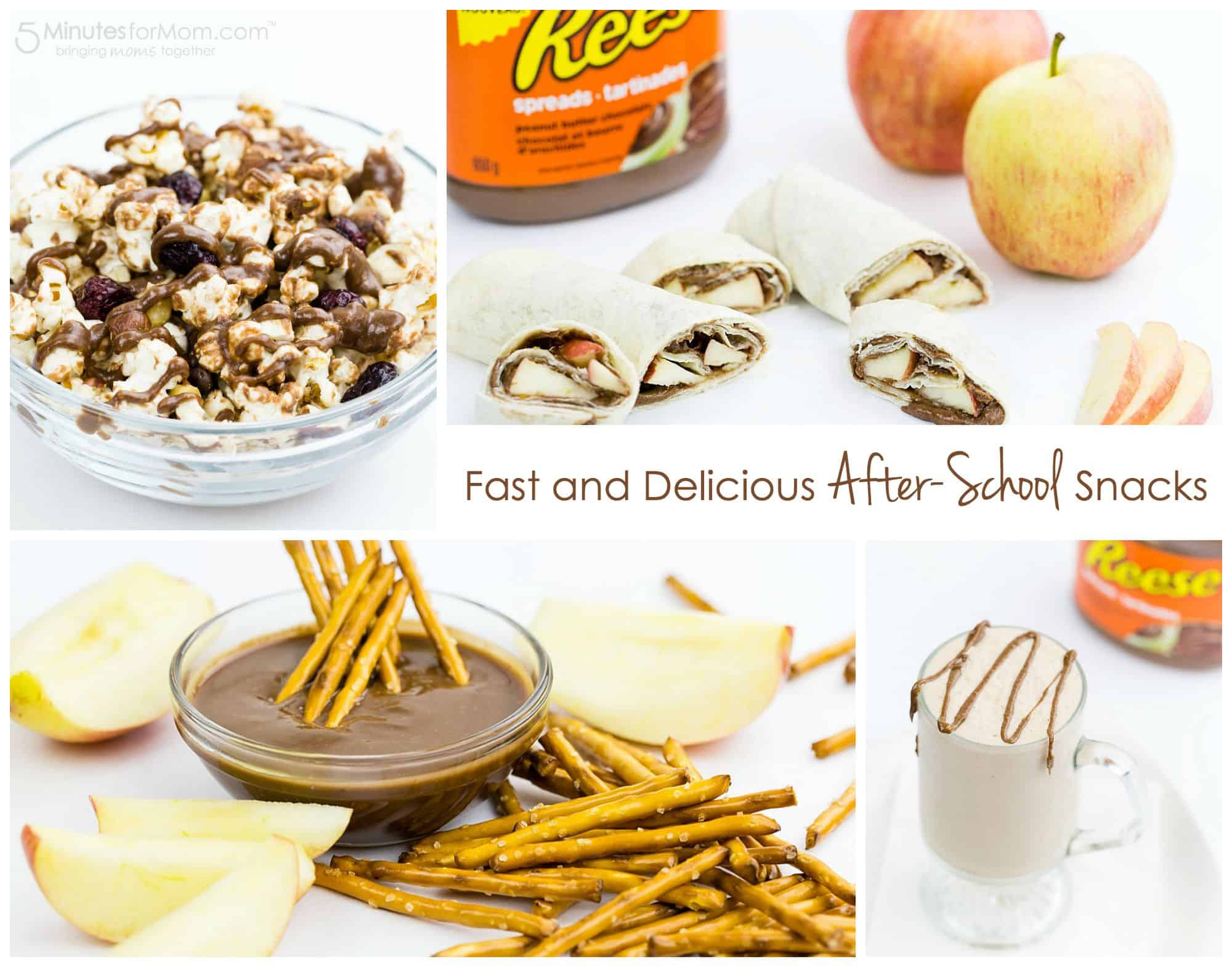 Fast and Delicious After School Snacks