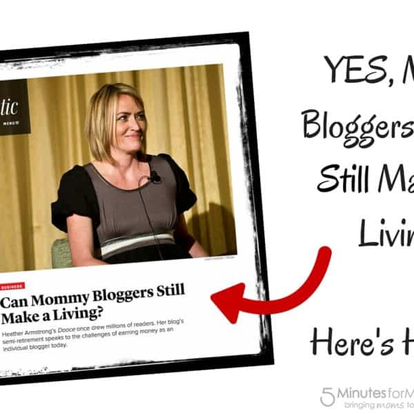 YES, Mommy Bloggers CAN Still Make a Living – Response to @TheAtlantic Article About @Dooce