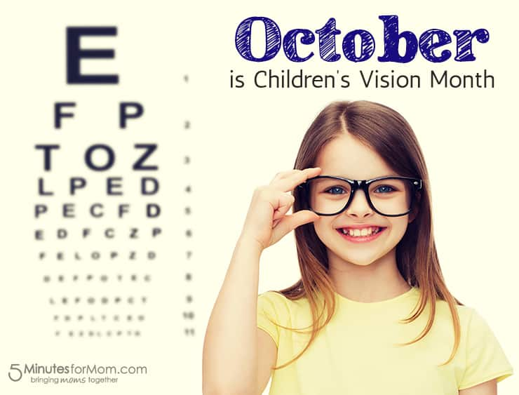 October is Children's Vision Month
