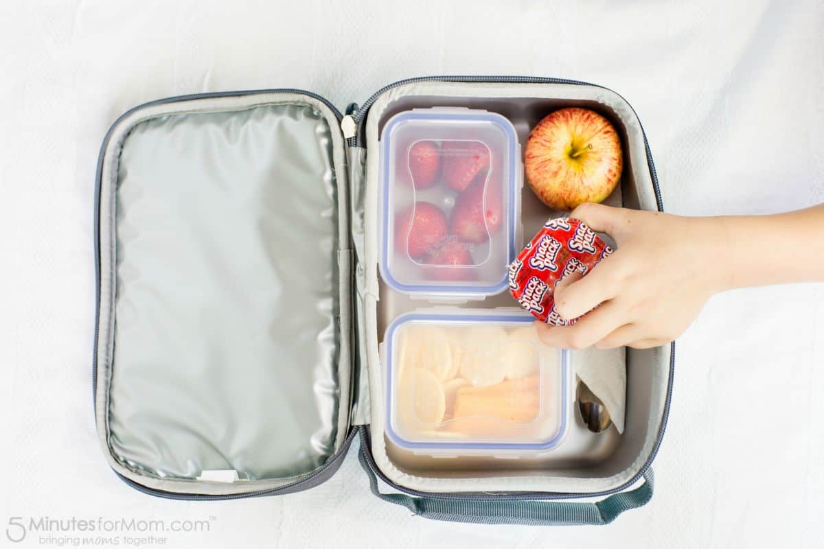 Pack Lunches the Night Before