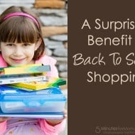 A Surprising Benefit of Back To School Shopping #HowWeFamily
