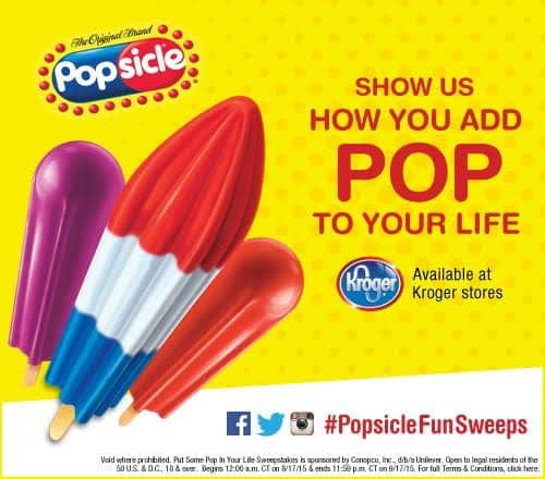 The Popsicle #PopsicleFunSweeps
