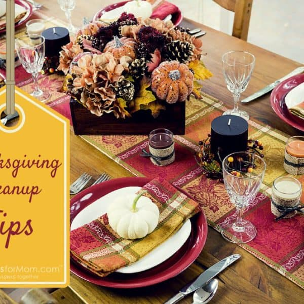5 Tips to Make Cleaning up After Thanksgiving Dinner Easier