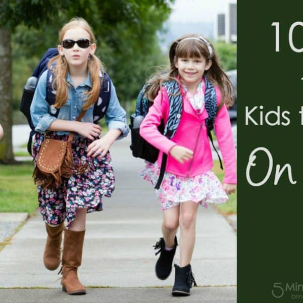 10 Tips for a Smoother Morning Routine for School