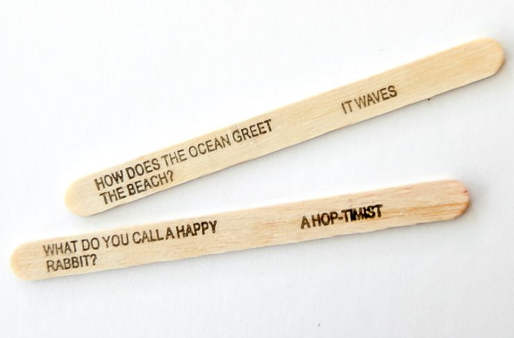 What are your favorite jokes on Popsicle sticks