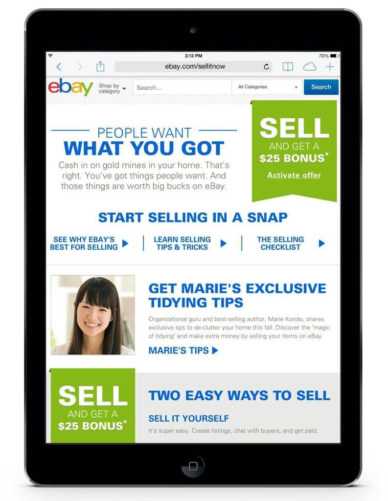 ebay valet sellitnow