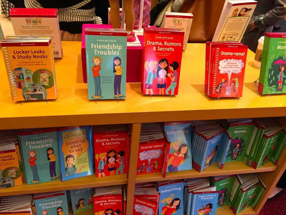 American Girl Books at Store