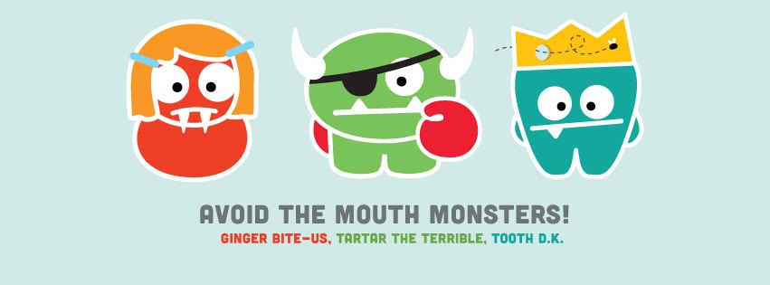 Avoid the Mouth Monsters