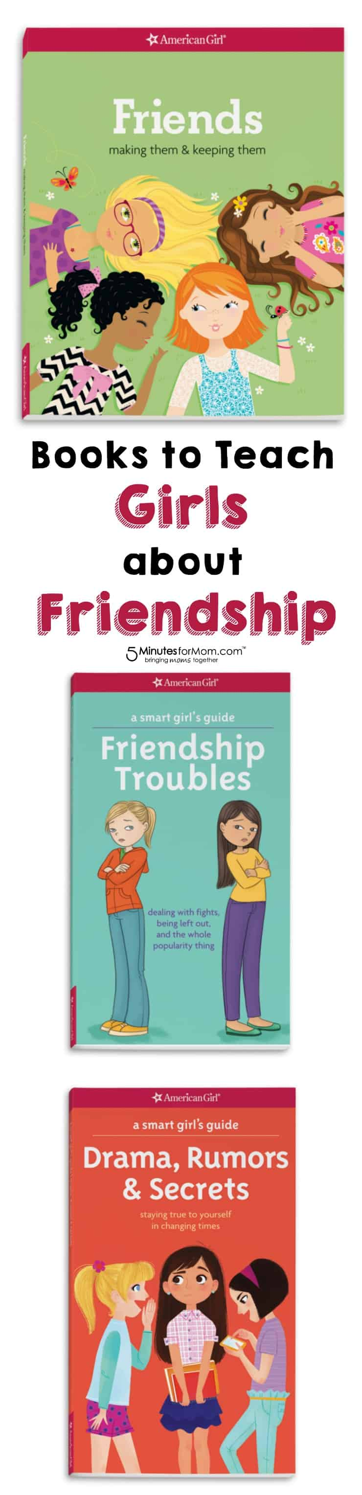 Books to Teach Girls about Friendship