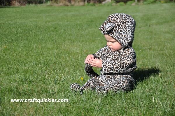 DIY Cheetah Suit