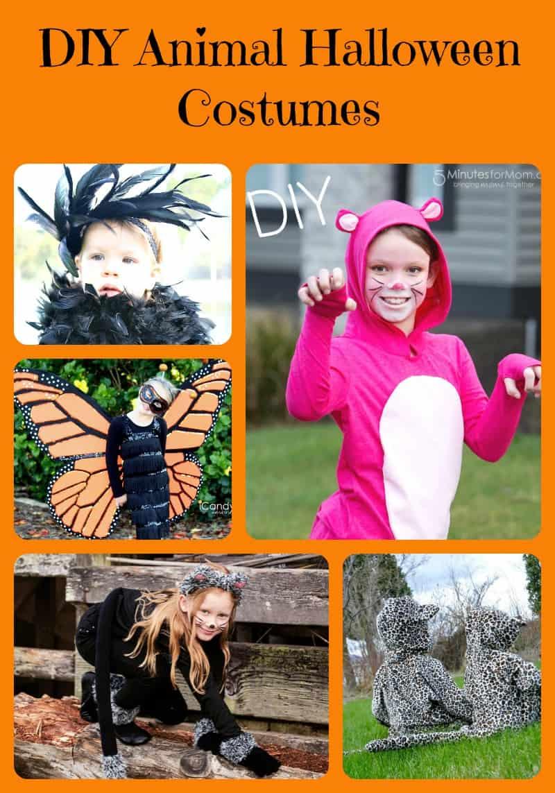 DIY Animal Halloween Costumes