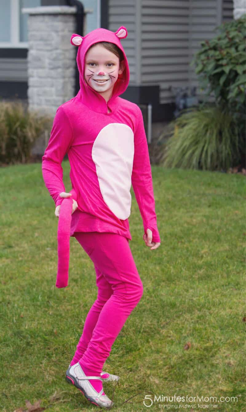 DIY Pink Panther Costume