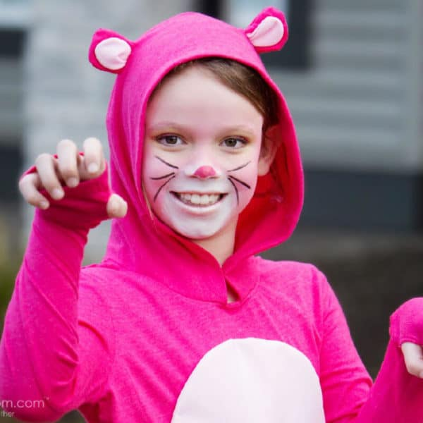 DIY Pink Panther Costume Tutorial