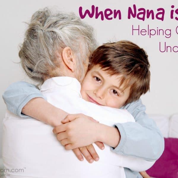 When Nana is Sad – Helping Children Understand Grief