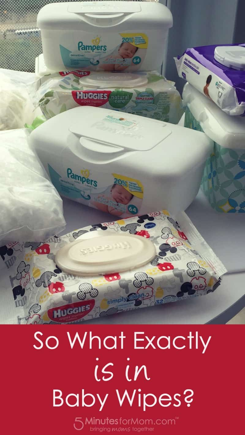 So What Exactly is in Baby Wipes