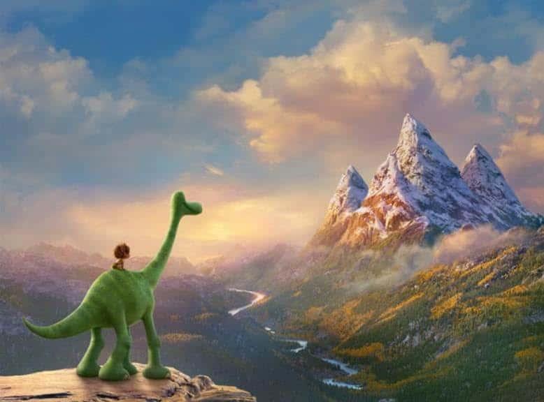 The Good Dinosaur Movie Still - Arlo & Spot