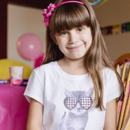 Wordless Wednesday — Sophia is Eight!