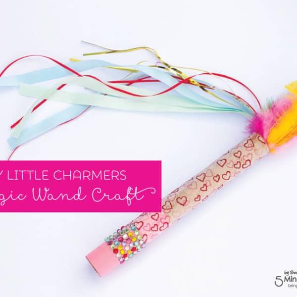 DIY Little Charmers Magic Wand Craft