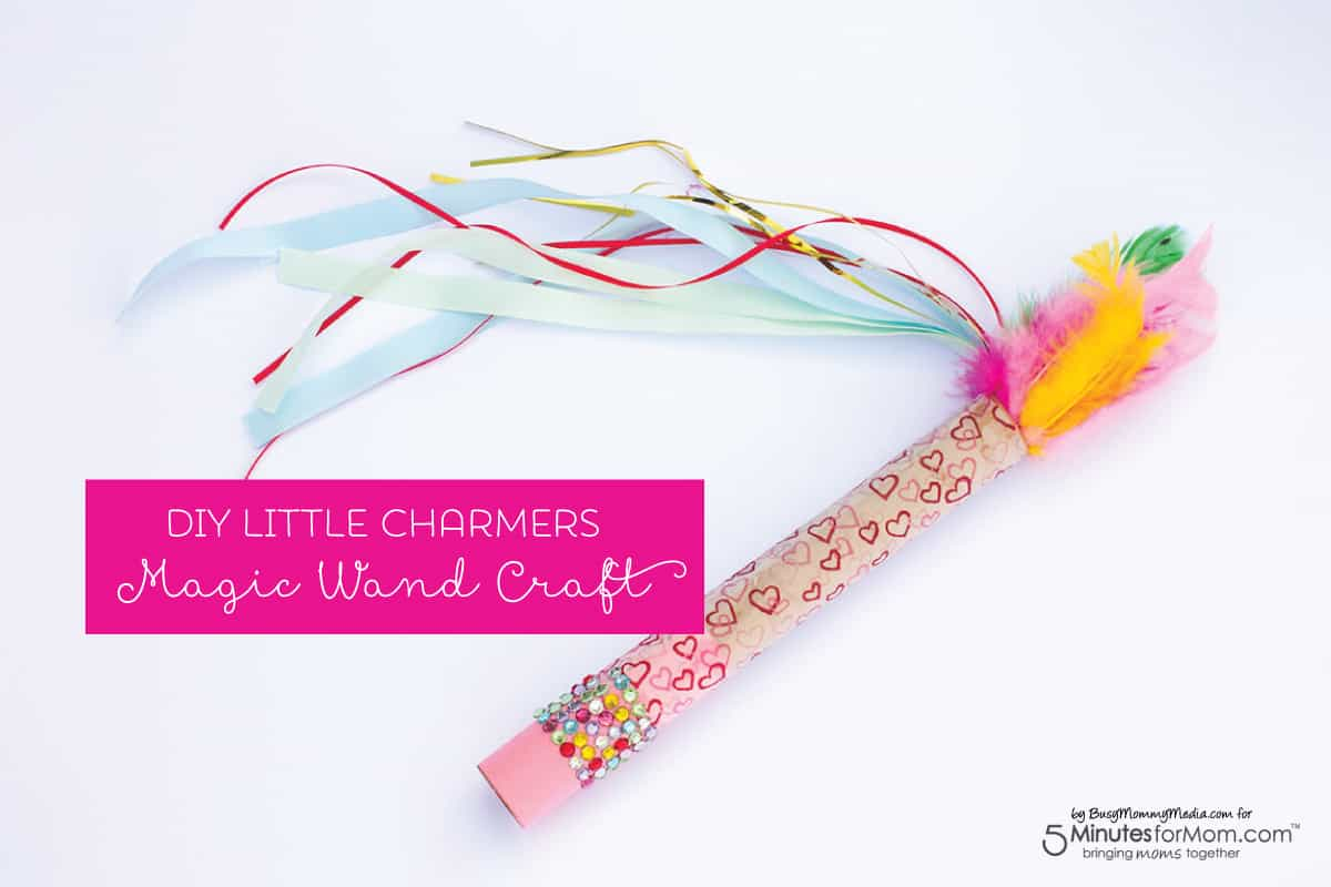 diy little charmers magic wand craft 5 minutes for mom. Black Bedroom Furniture Sets. Home Design Ideas