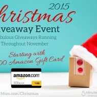 Christmas Giveaway Event 2015 – Starts With $100 Amazon Gift Card