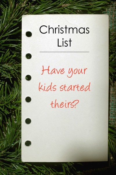 Call me surprised: My son put BOOKS on his Christmas list!