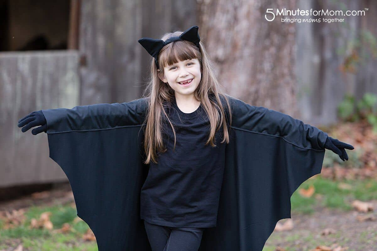 DIY Bat Costume