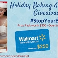Holiday Baking $250 #Giveaway #StopYourBurn @WaterJelTech