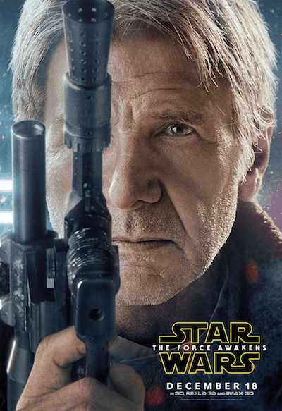 Han-Solo-Poster - Star Wars: The Force Awakens