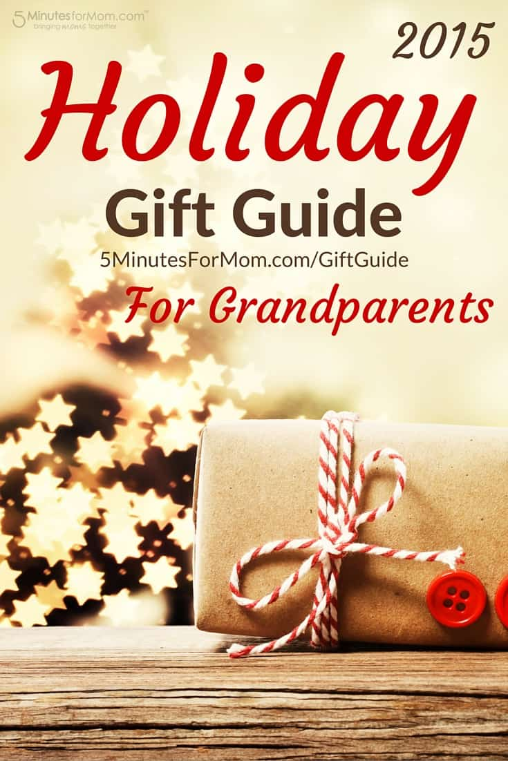 Holiday Gift Guide for Grandparents 2015