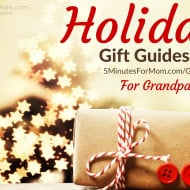 Holiday Gift Guide – for Grandparents