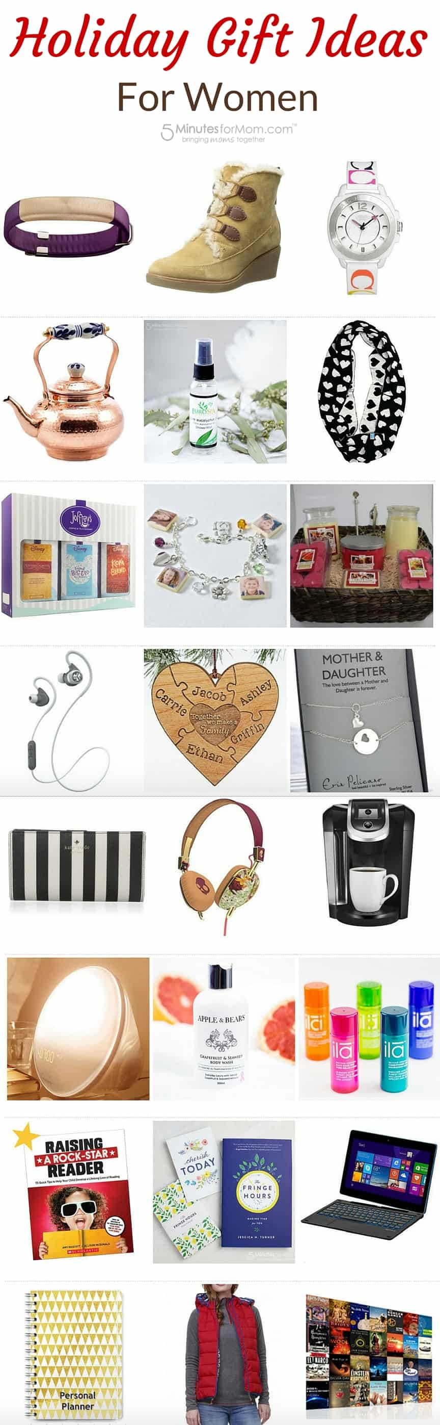 Christmas Gift Ideas For Women.2015 Holiday Gift Guide For Women