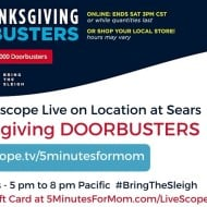 The Savings and Fun of #BlackFriday @Sears Starts TONIGHT #BringTheSleigh