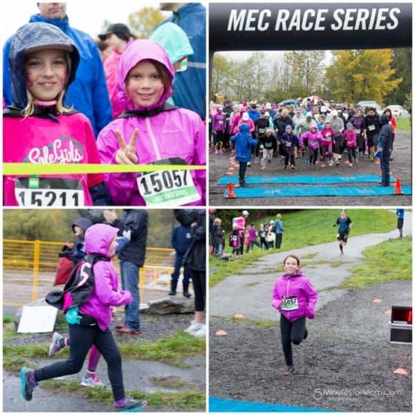 Wordless Wednesday — Olivia's First 5K Run