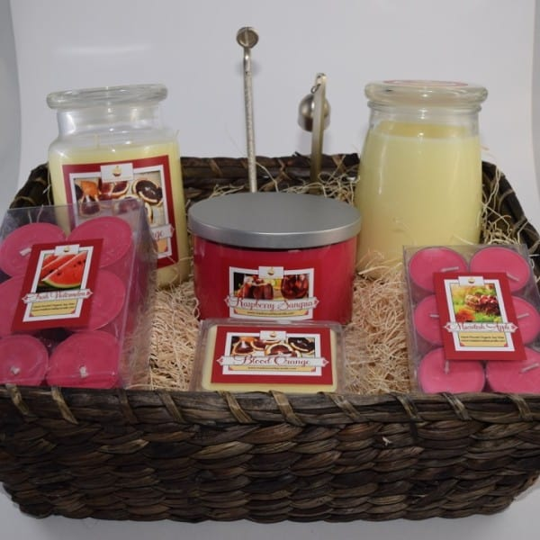 Madison Valley Candles Executive Basket