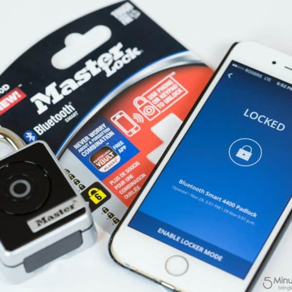 Get a Smart Padlock and Stop Worrying about Combinations and Lost Keys #LSSS