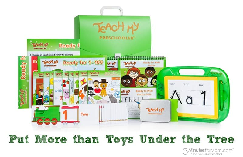 Put more than toys under the tree