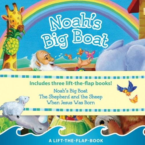 Noahs Big Boat Lift a Flap Set