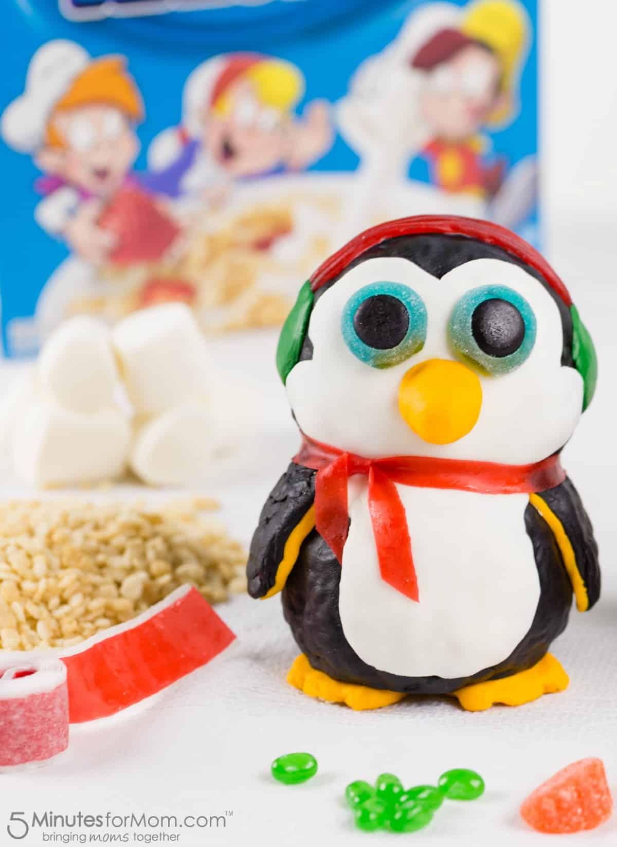 Penguin Rice Krispies Treat