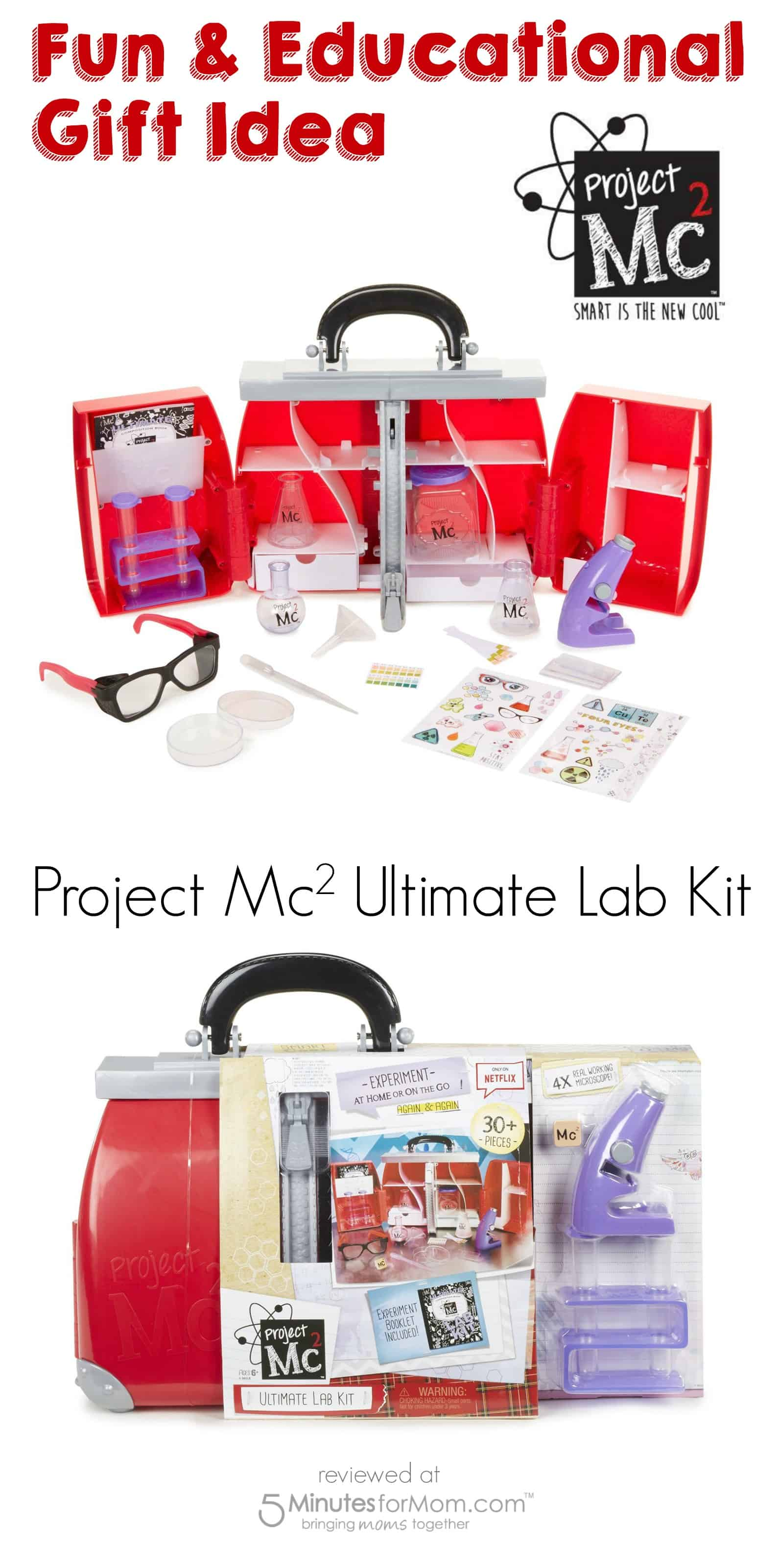 Project Mc2 Ultimate Lab Kit - Gift Idea