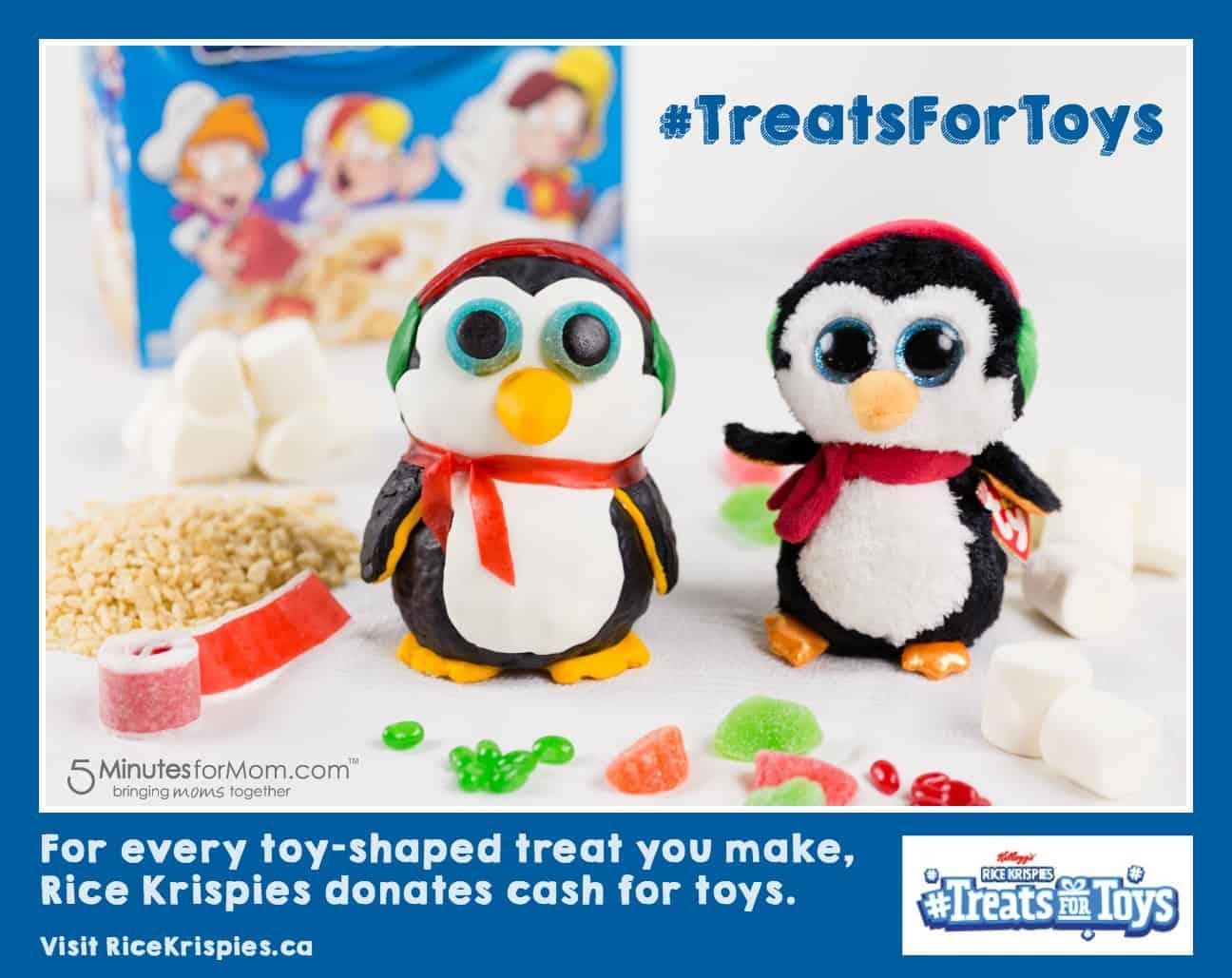 Rice Krispies TreatsForToys Program