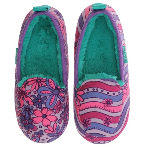 Snooze Charm Purple Slippers