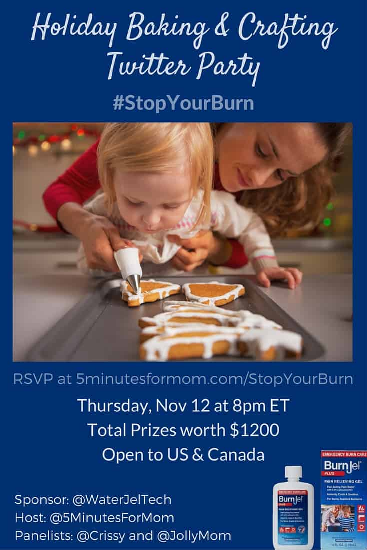 StopYourBurn Twitter Party - Pinterest Size
