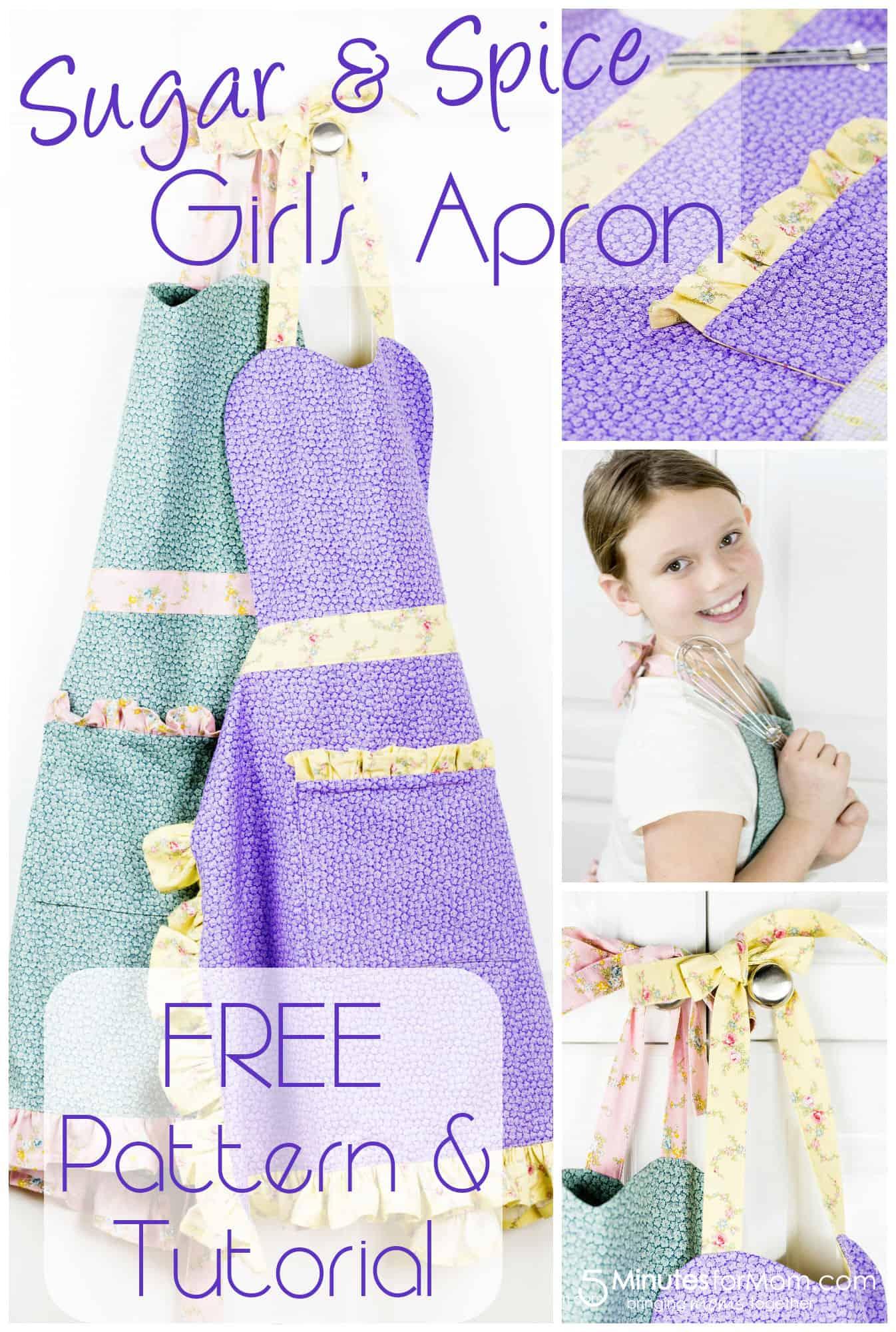 Free Girls Apron Pattern