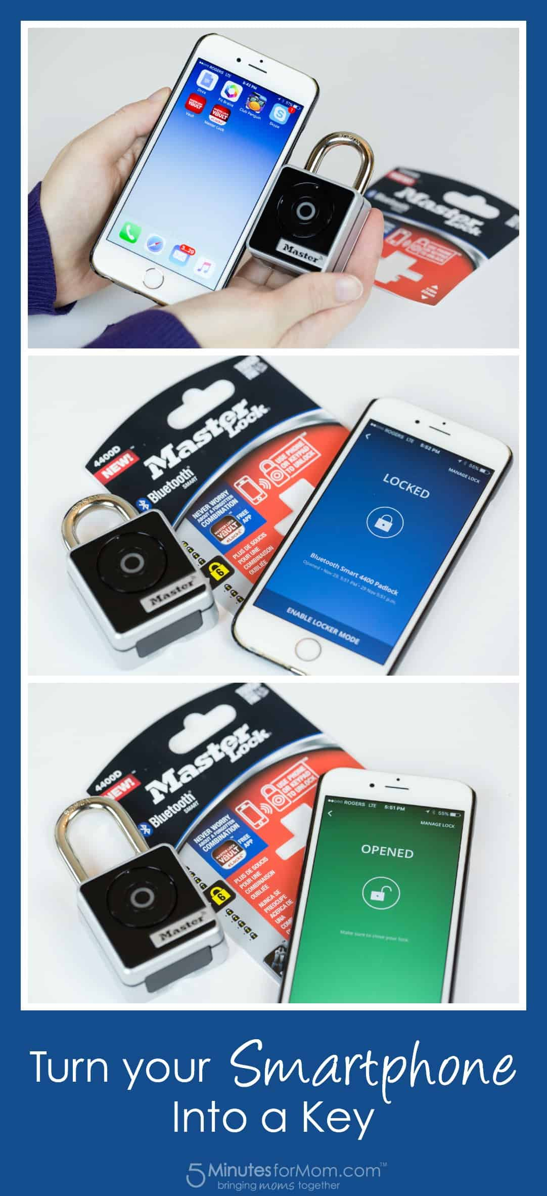 Turn your smartphone into a key
