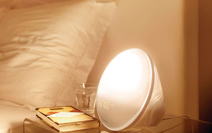 Wake up feeling refreshed with the Philips Wake-up Light!
