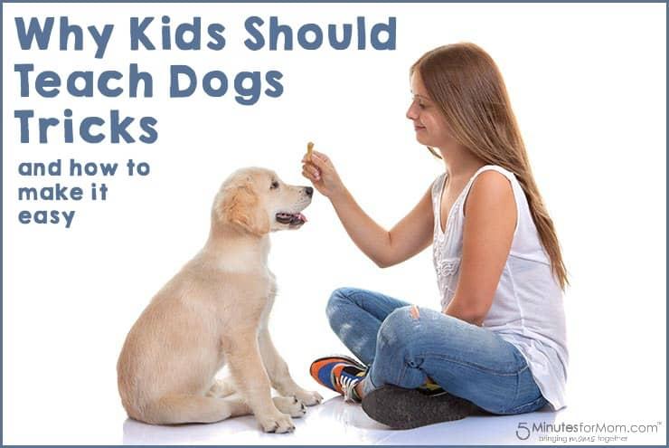 Why kids should teach dogs tricks