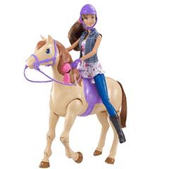 barbie saddle n ride