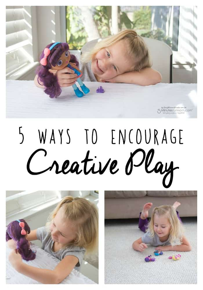 5 Ways to Encourage Creative Play