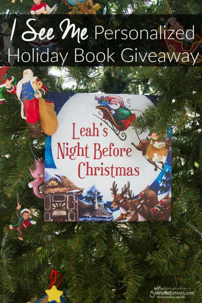 I See Me Personalized Holiday Book Giveaway